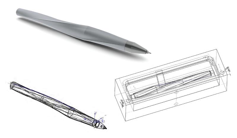 CNC pen | Bi... Solidworks